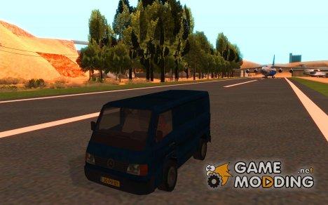 Mercedes-Benz MB100 для GTA San Andreas