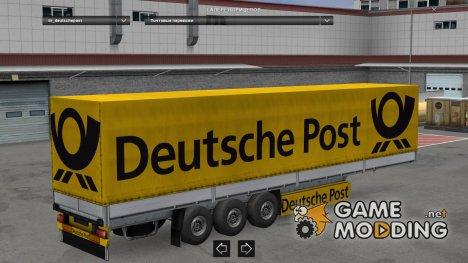 Trailers Pack Post World v 2.0 для Euro Truck Simulator 2