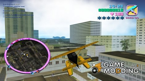 Vice City HD Radar для GTA Vice City