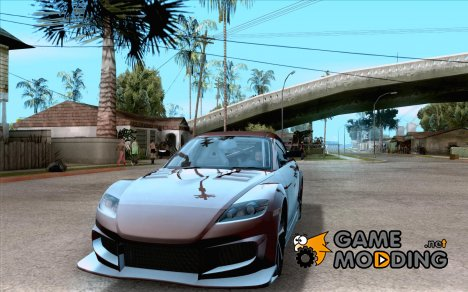 Mazda RX8 Slipknot Style for GTA San Andreas