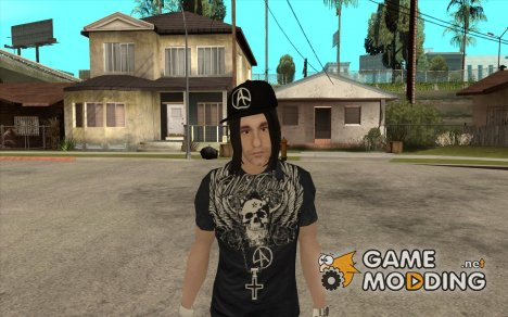 Criss Angel Skin for GTA San Andreas