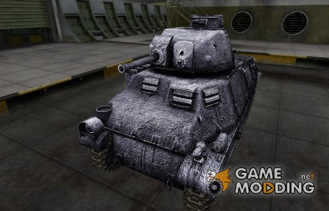 Темный скин для PzKpfw S35 739 (f) для World of Tanks