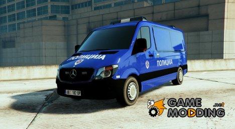 Serbian Police Van - Srbijanska Marica - v1.2 для GTA 5
