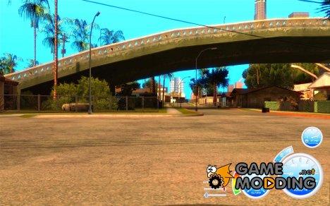CraZZZy Speedometer v.2.2 Full + Ограниченный бензин для GTA San Andreas