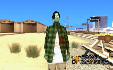 Zombie Skin - fam2 for GTA San Andreas
