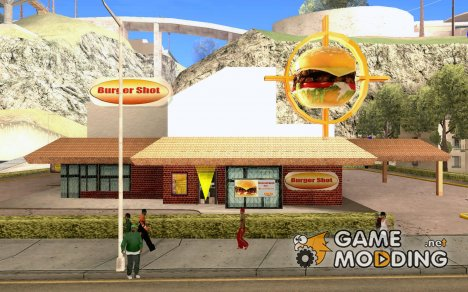 New Burger Shot for GTA San Andreas