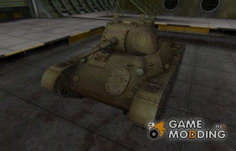 Шкурка для Т-127 в расскраске 4БО for World of Tanks