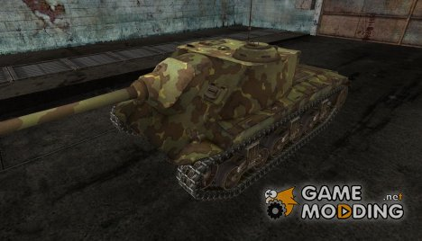 шкурка для T25 AT №6 for World of Tanks