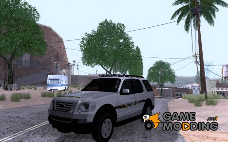 2010 Ford Explorer Sheriff для GTA San Andreas