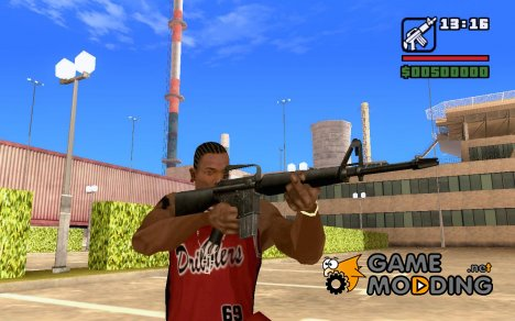 M16a1 for GTA San Andreas