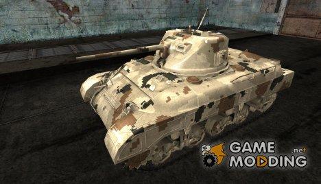 Шкурка для M7 med for World of Tanks