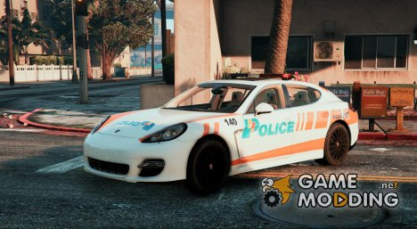 Porsche Panamera Swiss - GE Police for GTA 5