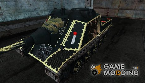Шкурка для AMX AC Mle.1946 (Вархаммер) for World of Tanks