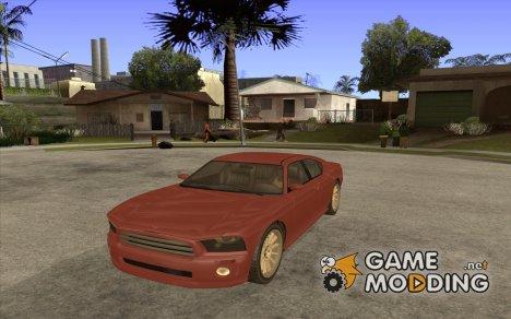 FIB Buffalo из GTA 4 for GTA San Andreas