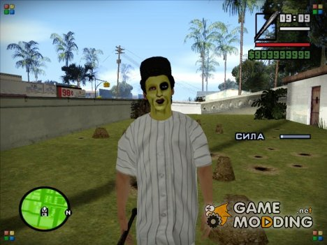 The Baseball Furies skin (The Warriors) для GTA San Andreas