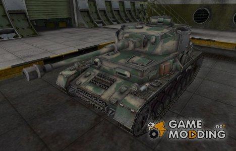 Скин для немецкого танка PzKpfw IV hydrostat. for World of Tanks