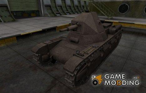 Перекрашенный французкий скин для AMX 38 для World of Tanks