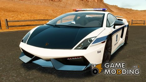 Lamborghini Gallardo LP570-4 Superleggera 2011 Halifax Regional Police [ELS] для GTA 4