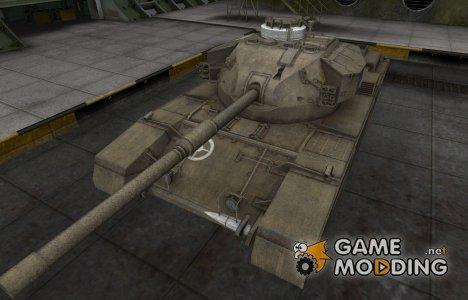 Зоны пробития контурные для FV4202 для World of Tanks
