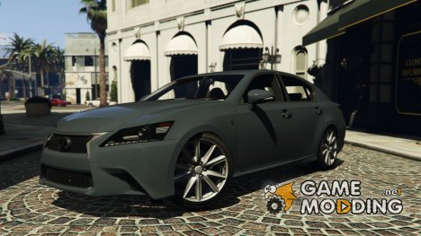 Lexus GS350 F Sport Series for GTA 5