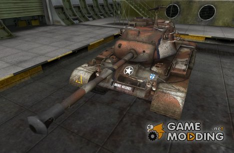 Ремоделинг для M46 Patton для World of Tanks