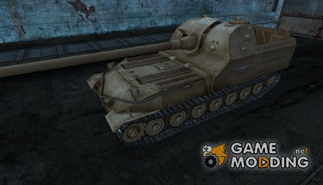 Объект 261 шоколадного цвета для World of Tanks