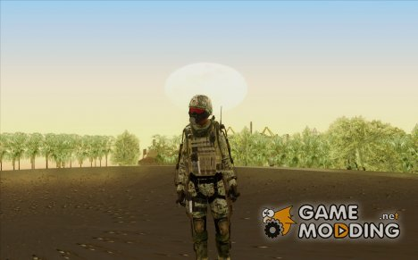 CoD AW US Marine Assault v2 Head B для GTA San Andreas
