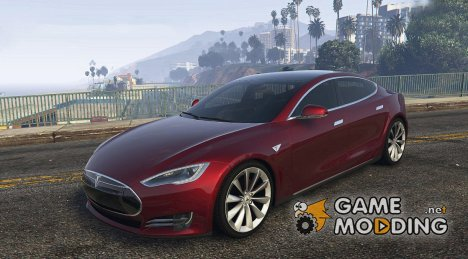 2014 Tesla Model S for GTA 5