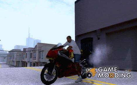Flame NRG-500 (skin) для GTA San Andreas