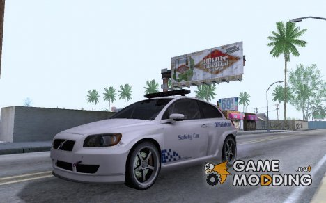 Volvo c30 Safety Car STCC for GTA San Andreas