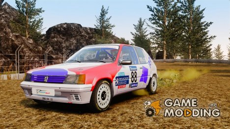 Peugeot 205 Rally for GTA 4