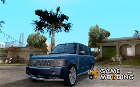 Land Rover Range Rover Supercharged 2009 для GTA San Andreas