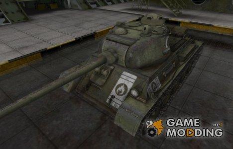 Зоны пробития контурные для Т-43 для World of Tanks