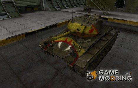 Исторический камуфляж M24 Chaffee для World of Tanks
