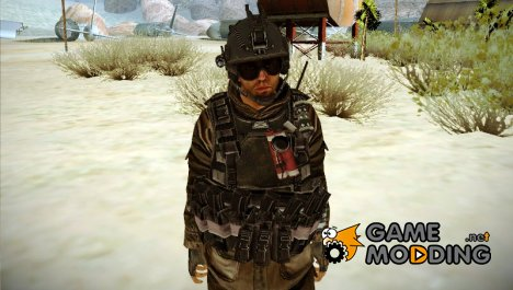 Солдат ВДВ (CoD: MW2) v5 for GTA San Andreas