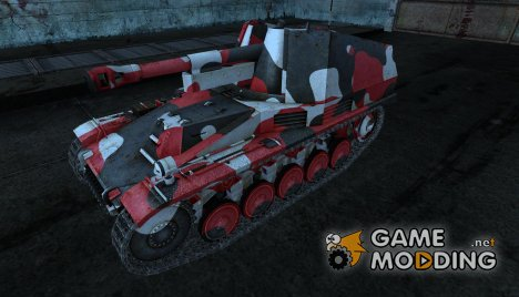 Шкурка для Wespe №14 for World of Tanks