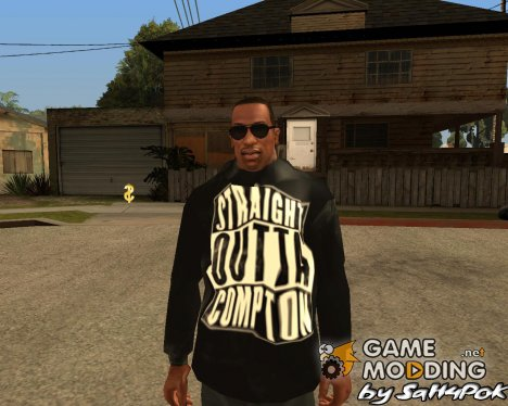 "Толстовка ""Straight Outta Compton"" for GTA San Andreas"