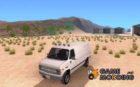 Chevrolet Van G20 News для GTA San Andreas