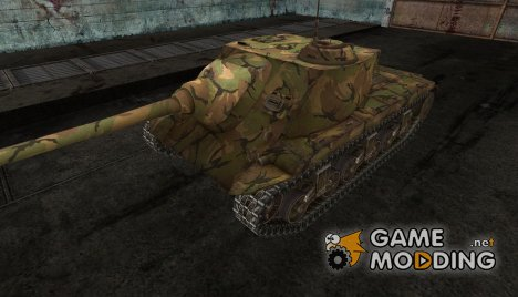 шкурка для T25 AT №5 for World of Tanks