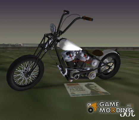 Harley-Davidson Shovelhead для GTA Vice City