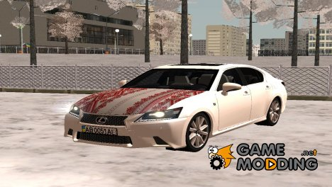 Lexus GS350 Украинец for GTA San Andreas