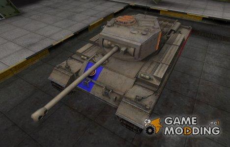 Качественный скин для Caernarvon для World of Tanks