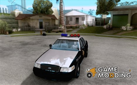 Ford Crown Victoria Texas Police для GTA San Andreas