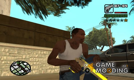 Gold Deagle for GTA San Andreas