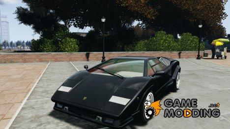 Lamborghini Countach для GTA 4