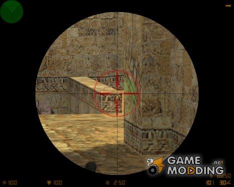 Прицел - Волчий охотник для Counter-Strike 1.6