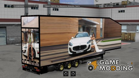 Decker Trailers Pack v3 for Euro Truck Simulator 2
