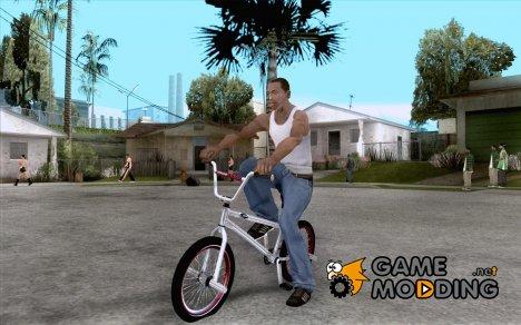 REAL Street BMX mod Chrome Edition for GTA San Andreas