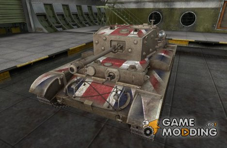 Шкурка для Comet для World of Tanks