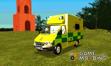 Mercedes-Benz Sprinter London Ambulance для GTA San Andreas